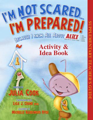 I'm Not Scared I'm Prepared Activity Book